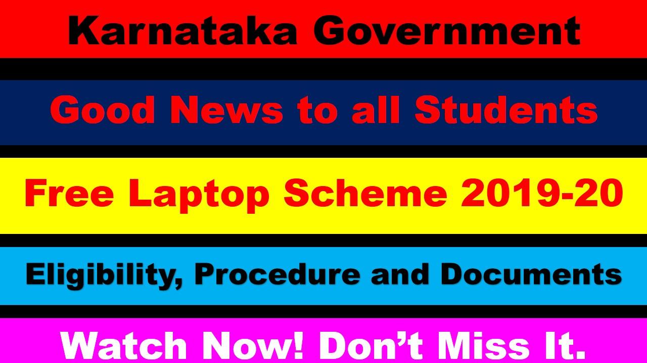Free laptop Scheme